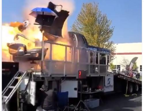 Truck measures 2920 horsepower before engine explodes…