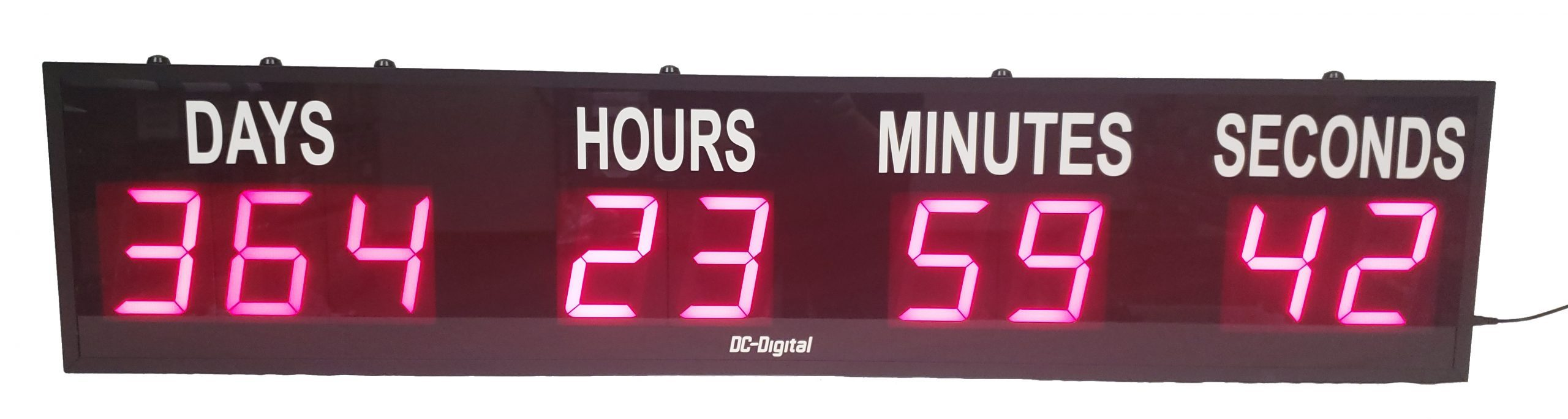 DC-409T-DN 4.0 Inch LED Countdown Dyas Hours Minutes and Seconds Event Timer