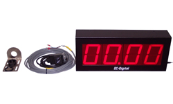 Oil Change Service timer 4 Inch LEDs Sensor Reset and Start 1 input counts up