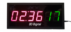 DC-256T-UP-TERM-Timer-2.3 Inch LED Drive Through Timer MM:SS and 2 Digit Car Counter