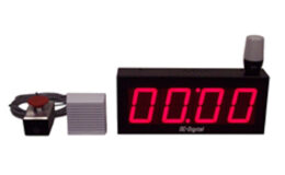 Digital LED Threshold Process Count up timer with ANDON Light and Horn remote reset and start