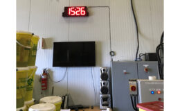 Stericycle DC-80T-DN-BCD 8 inch LED digital process countdown timer at factory
